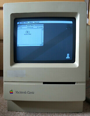 Apple Macintosh CLASSIC - Base Unit - Tested And Working • 20£