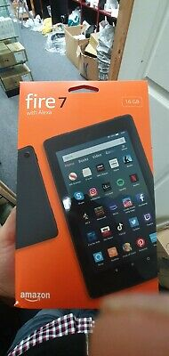 All New Amazon Kindle Fire 7 - With Alexa - (9th Gen) - BLACK • 55£
