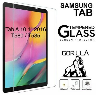 Tempered Glass Screen Protector For Samsung Galaxy Tab A 10.1 2016 SM T580 T585 • 4.49£