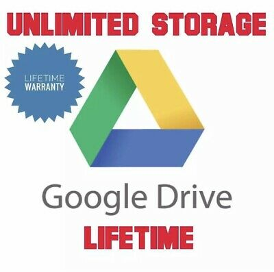 Google Drive Unlimited Storage Shared Drives • 5£