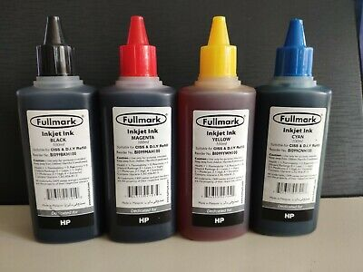 Premium Printer Cartridge Refill Ink For Epson, HP And Lexmark, Black And Colour • 12£