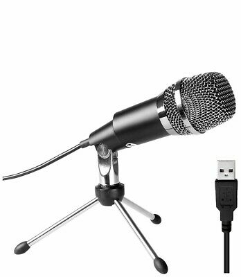 PC Microphone,FIFINE Plug &Play Home Studio Cardioid USB Condenser Microphone • 29.99£
