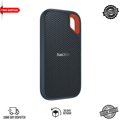 SanDisk Extreme Portable SSD 1 TB Up To 550 MB/s Brand New - FREE P&P! • 109.99£