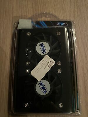 ATRIX Hard Disk Cooler 2x50mm Fans • 8.99£