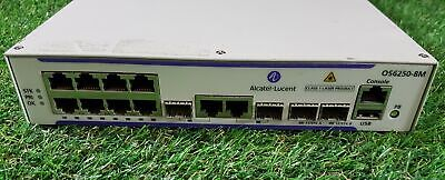 Alcatel-Lucent OS6250-8M With Rack Mount Brackets 8-Port • 24.99£