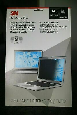 3M Screen Privacy Filter For 13.3  Touch Screen Laptop Protection Cover • 15£