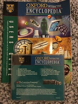 Oxford Interactive Encyclopaedia DVD CD-ROM & Users Guide • 0.50£