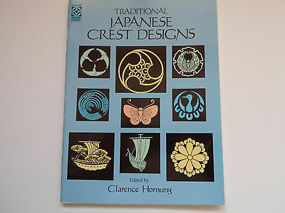 Traditional Japanese Crest Designs Clarence P Hornung 9780486252438 • 23£