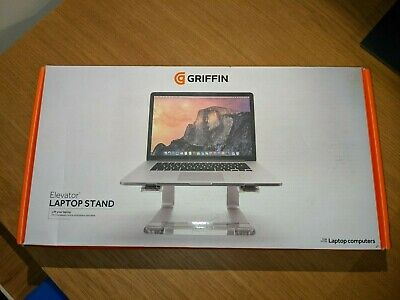 Griffin Elevator Silver Laptop Stand • 8£