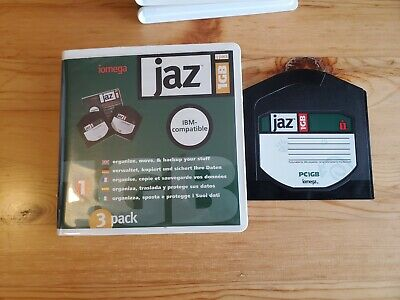 5x 1GB JAZ Disks - PC Formatted (USED) • 17.99£