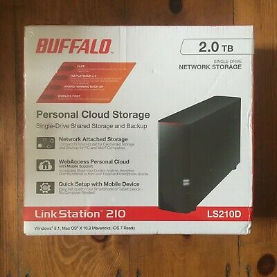 Buffalo Linkstation 210 2 Tb Cloud Storage • 90£