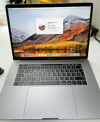 Macbook Pro  - 15 Inch 2018-Core I7-512GB-16GB RAM-SPACE GREY - Touch Bar • 1,299£