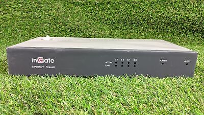 InGate S21 CAD-0208-1210-IG SIParator Firewall Security VPN Appliance • 19.99£