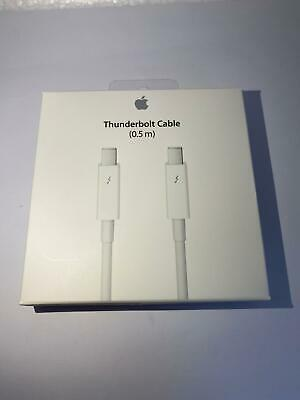 New Sealed Genuine Apple 0.5 M Thunderbolt Cable White  • 19.99£