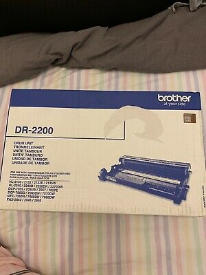 GENUINE BROTHER DR2200 Drum Unit.                       Brother At Your Side • 31.80£