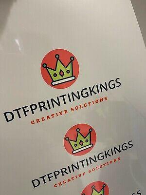 DTF Printing Paper (PET A3 Sheets) Powder Included • 28.99£
