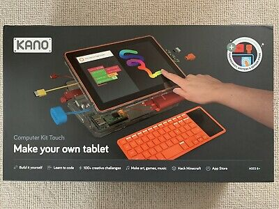 Kano Computer Kit Touch / Build A Tablet/ Learn To Code /Play • 30£