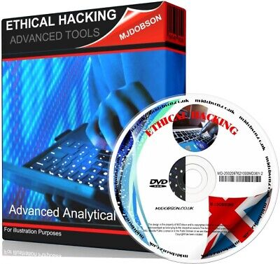 Ethical Hacking Tools  Advanced Analytical Tools Double DVD Set • 6.75£