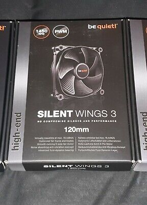 Be Quiet Silent Wings 3 120mm 1450RPM PWM • 14.99£
