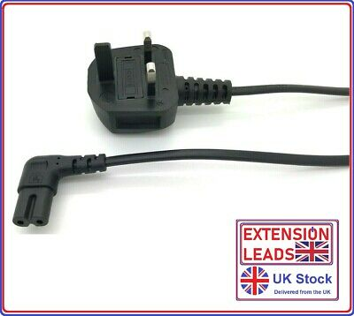 LG LED Flat Screen TV Mains Power Lead Cable Cord 1m 2m 3m 4m 5m UK Long • 7.99£