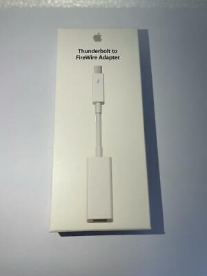 Genuine Apple Thunderbolt To FireWire Adapter • 19.99£