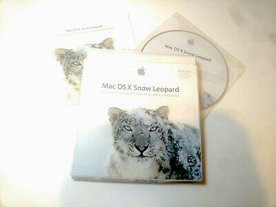 Mac OS X Snow Leopard 10.6 FAMILY PACK For Up To 5 Macs Installation DVD Apple • 17£