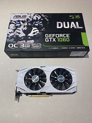 ASUS GeForce GTX 1060 3GB - Near Perfect Condition • 185£