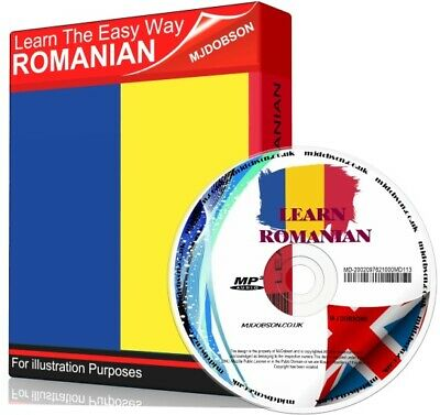 Learn How To Speak Romanian Language Easy Audio CD Course Tutorial • 4.49£