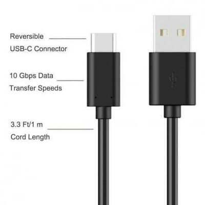 USB Data Charger White Cable For Lenovo Tab M10 TB-X605F / TB-X605L Tablet • 6.99£