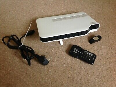 Casio XJ-A141 HDMI Slim Line Projector 1485 Hours Home Cinema Office Garden • 100£