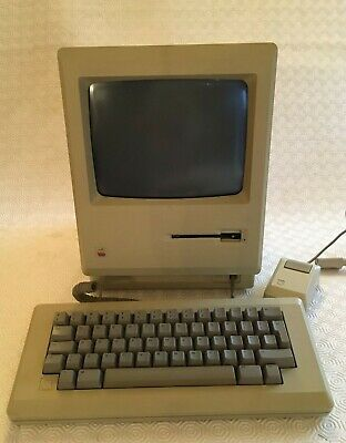 Apple Macintosh 512k Used, Tested, Working With Original Box • 103£
