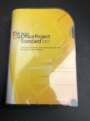 Microsoft Office Project Standard 2007 Retail Edition • 55£