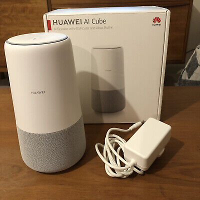 Huawei AI Cube B900 4G WiFi Router With Built-in Alexa Smart Speaker • 31.50£