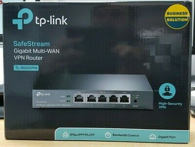 TP-LINK TL-R600VPN Ethernet LAN Blue Gigabit Router - Clearance • 79.97£