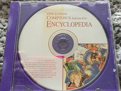 1998 Edition Compton's Interactive Encyclopaedia DVD CD-ROM • 0.50£