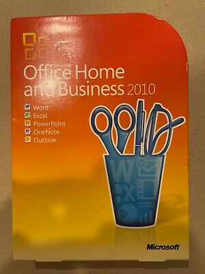 Microsoft Office Home And Business 2010 For Windows • 10£