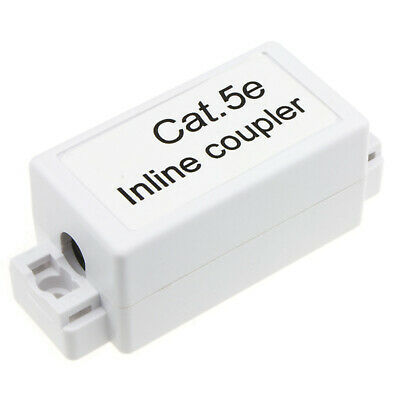Inline Punch Down Coupler For Lan Cables CAT5e White • 3.19£