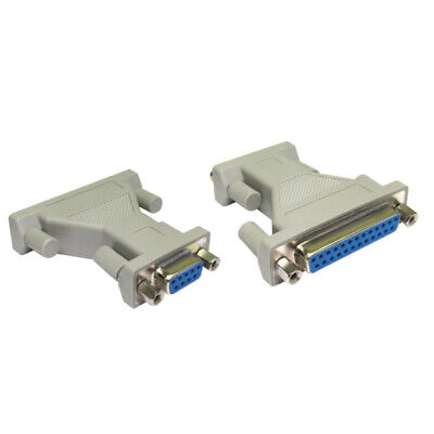 9 Pin Serial Female To 25 Pin Serial Female Adapter Converter [006346] • 3.93£