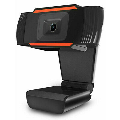 HD USB Webcam With Microphone Web Camera With Mic For PC Laptop Zoom Skype • 14.95£