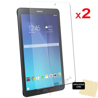 2x CLEAR Screen Protector Covers For Samsung Galaxy Tab E 9.6 Inch SM-T560 T565 • 2.69£