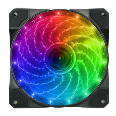 Game MAX 12CM RGB LED PC Case Cooling Fan 120mm Addressable 3-Pin/4-Pin Connectr • 7.95£