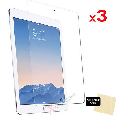 3x CLEAR Screen Protector Guard Covers For Apple IPad Pro 12.9  (2017 / 2015) • 2.95£