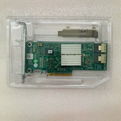 Dell PERC H310 8-Port 6Gb/s SAS Adapter RAID Controller HV52W Replaces Perc H200 • 22.98£