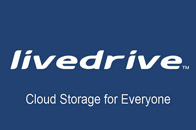 Livedrive Online Cloud Backup Storage 1 Year  Unlimited Data Windows/Mac  • 1.80£