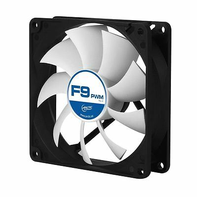 Arctic F9 PWM REV.2 92mm Quiet/Silent High Performance PC Cooling Case Fan • 4.99£
