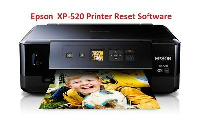 Epson Xp-520 Printer Waste Ink Pad Reset Disc New • 2.99£