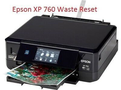 Epson Xp-760 Printer Waste Ink Pad Reset Disc New • 2.99£