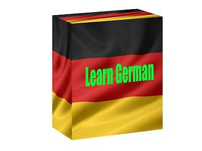 Learn To Speak German - Complete Introduction Language Course On 2 AUDIO CD's • 2.97£