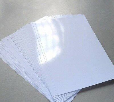Printer Photo Paper A4 One Side Glossy Inkjet  Premium Quality 250gsm 40 Sheets • 3.99£