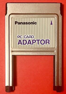 Panasonic SmallFormat PCMCIA / JEIDA / PC Card Adapter BN-SPCADP • 99.98£